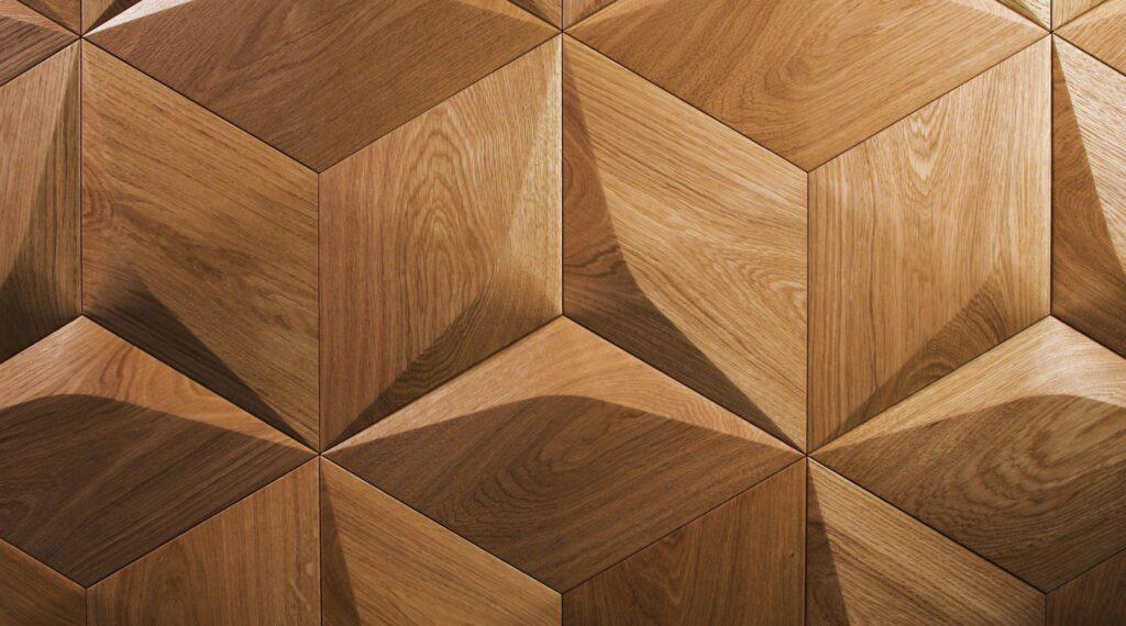 3d wall panel fine oak caro plus minus satin oiled