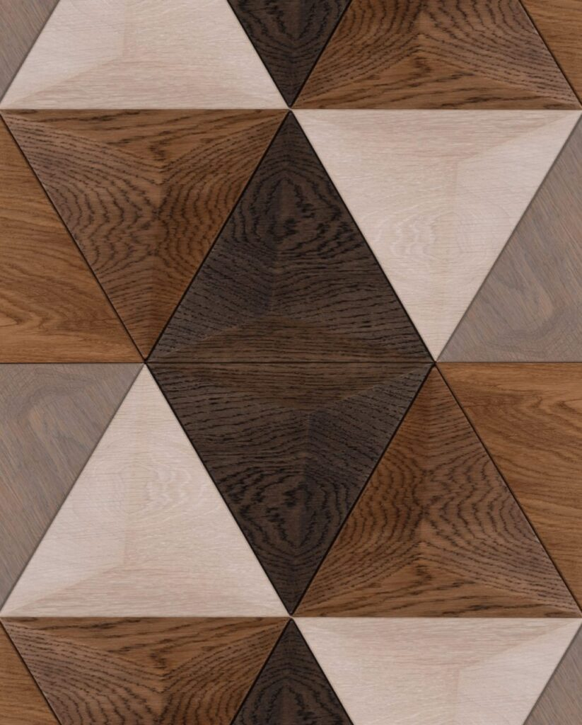 3d wall panel fine oak color selection