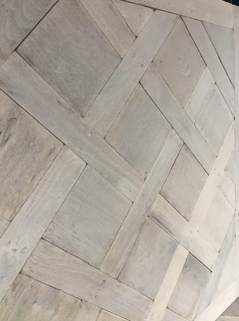 aged versailles solid flooring unfinished natural grade