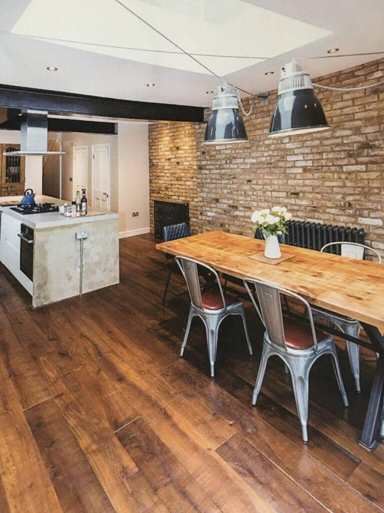 aged wide plank engineered flooring european oak brushed saw marks extra rustic grade