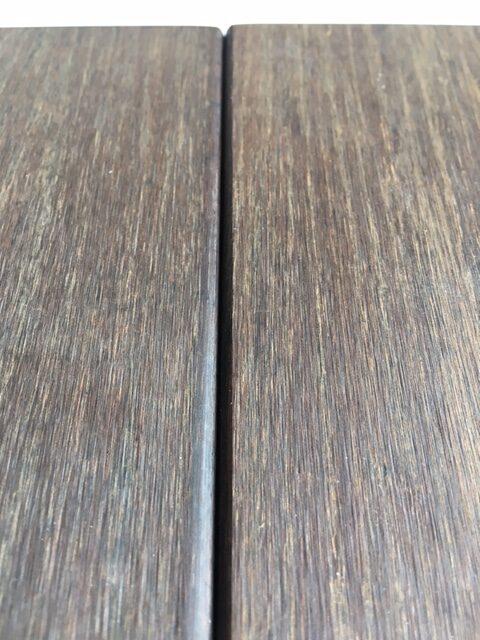 bamboo wallcladding closeup