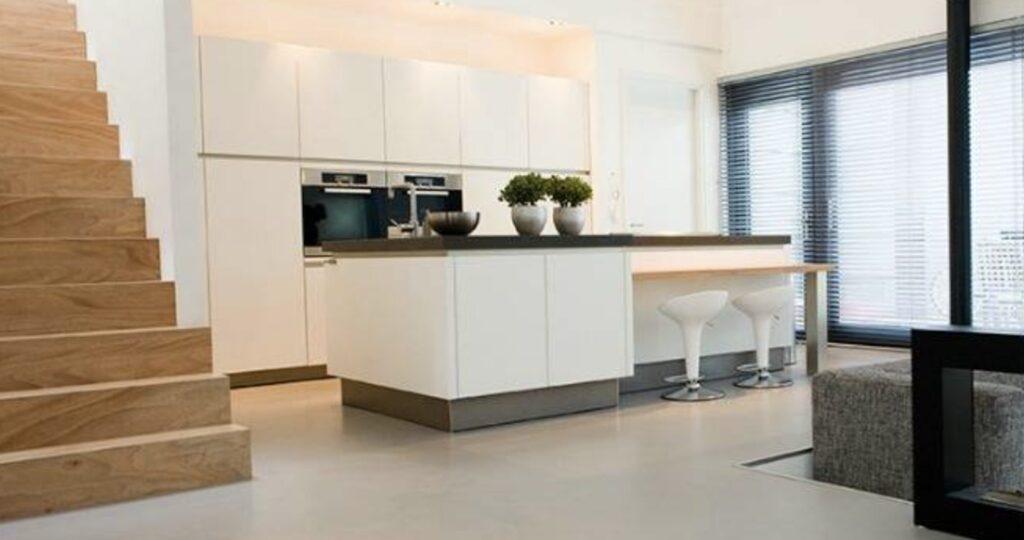 castfloor biopolymer kitchen