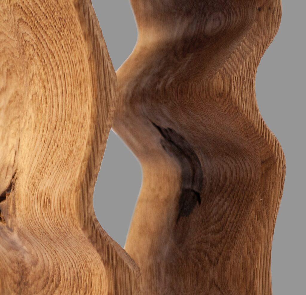 design winerack square edged rustic grade closeup