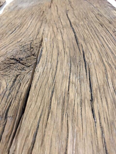 loftdoor barnwood oak closeup
