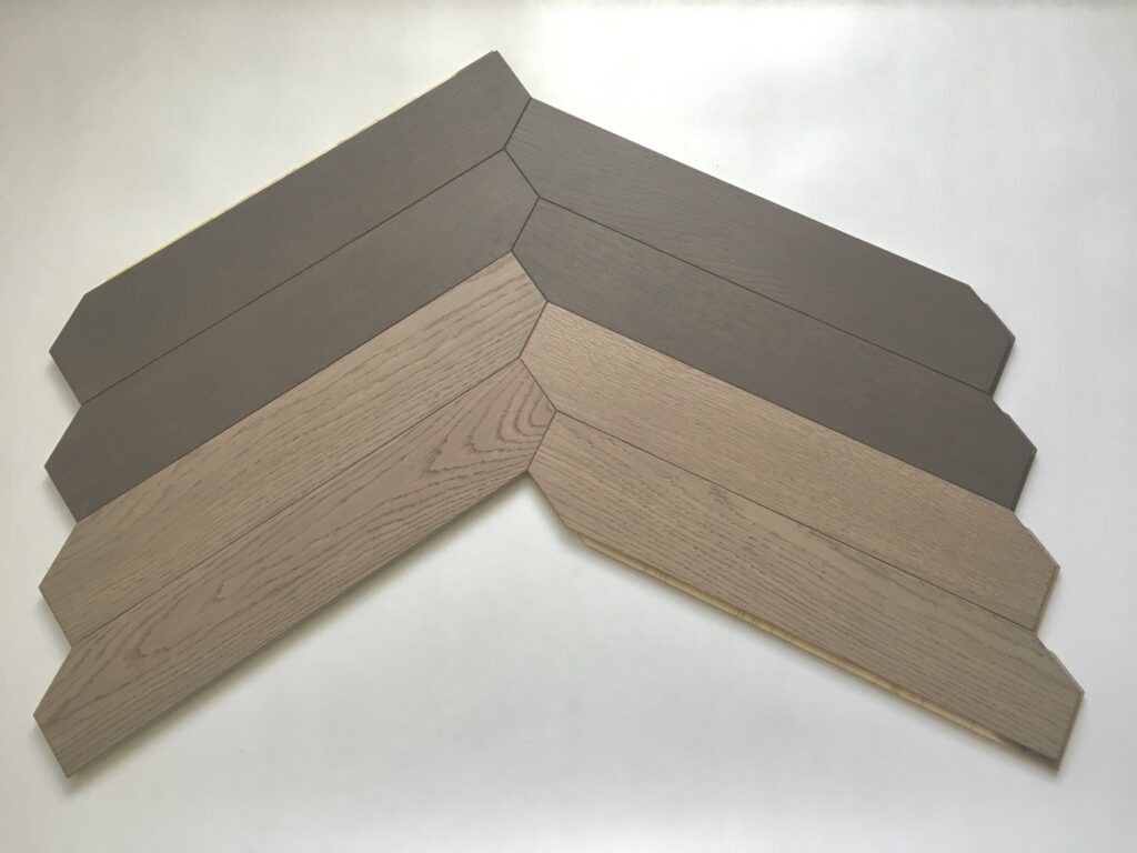 special chevron chocolate taupe combination