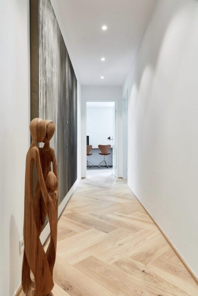 wide herringbone engineered flooring slavonian oak transparent oiled rustic grade