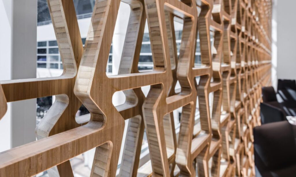 moso bamboo panels detail